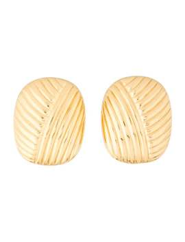 Vintage Clip On Earrings by Christian Dior