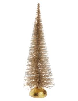 18 Inch Glitter Bottle Brush Tree by Rachel Parcell