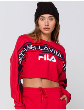 Fila Lucie Womens Crop Sweatshirt by Fila