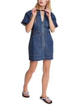 Dream On Denim Minidress by Free People