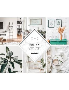 3 Mobile Lightroom Presets Cream, Mobile &Amp; Desktop Preset, Instagram Preset, Best Lightroom Preset, Scandinavian Preset, Interior Presets by Etsy