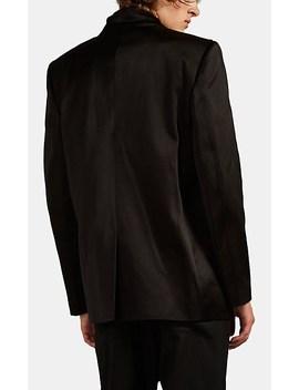 Cotton Silk Sateen Surplice Jacket by Haider Ackermann