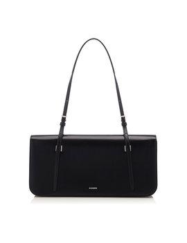Harness Medium Leather Shoulder Bag by Jil Sander