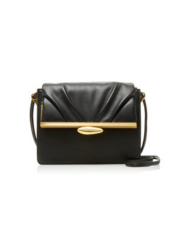 Pebble Leather Shoulder Bag by Reike Nen