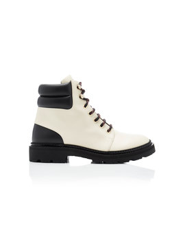 Leather Hiking Boots by Bally