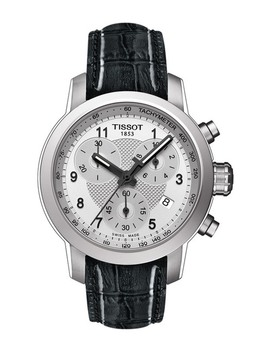 Women's Prc200 Quartz Embossed Leather Strap Watch, 35mm by Tissot