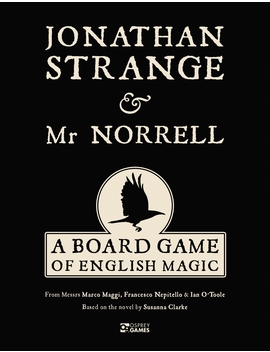 Jonathan Strange & Mr Norrell : A Board Game Of English Magic by Marco Maggi