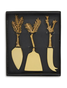 3 Piece Everest Cheese Knives Set by Anthropologie