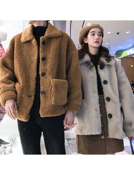 Balak   Couple Matching Fleece Buttoned Jacket by Balak