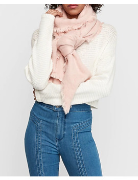 Cozy Brushed Blanket Scarf by Express