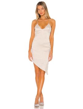 Alissa Asymmetrical Midi Dress by Superdown