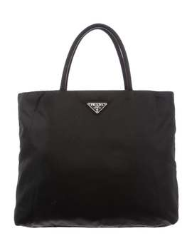 Medium Tessuto Tote by Prada