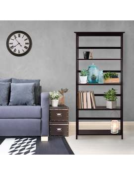 Mission Style 5 Shelf Bookcase by Generic