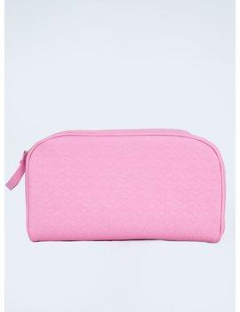 Jeffree Star Cosmetics X Shane Dawson Pink Double Zip Makeup Bag by Jeffree Star Cosmetics