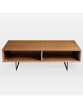 Open Walnut Coffee Table by West Elm
