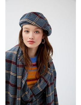 Uo Frenchie Checkered Beret by Urban Outfitters