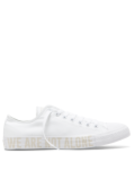 Chuck Taylor All Star We Are Not Alone Low Top White by Converse
