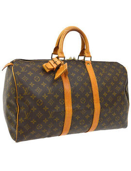 Louis Vuitton Keepall 45 Travel Hand Bag Purse Monogram M41428 Vi882 A47074 by Louis Vuitton