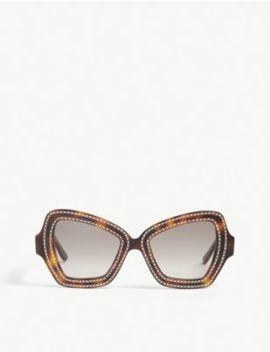 Cl4067 Is Butterfly Frame Sunglasses by Celine