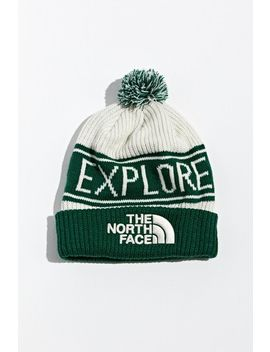 The North Face Retro Tnf Pompom Beanie by The North Face