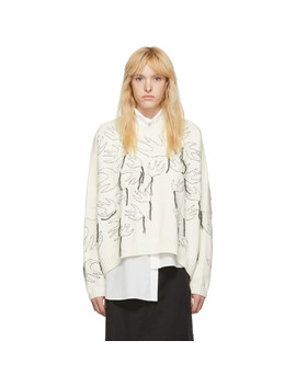 Off White Swallow Sweater by Mcq Alexander Mcqueen
