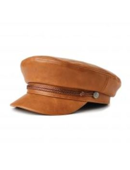 Fiddler W Cap   Tan Vegan Leather by Brixton
