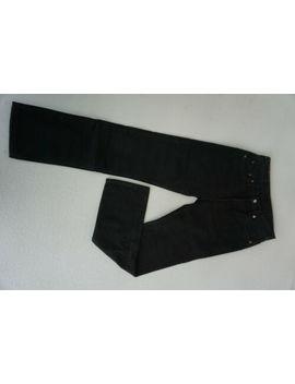 Levis Levi `s 517 Hommes Pantalon Jeans 30/34 W30 L34 Délavé Noir Top C26 by Ebay Seller