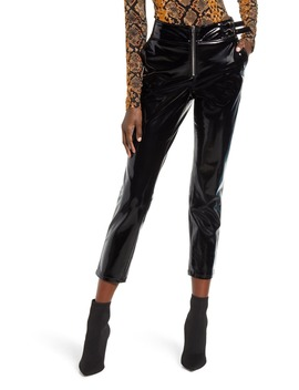 Patent Faux Leather Pants by Blanknyc
