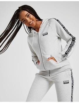 Adidas Originals Tape Fleece Full Zip Hoodie by Jd Sports