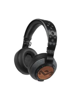 Casti On Ear Bluetooth House Of Marley Liberate Xlbt Em Fh041, Midnight by Marley