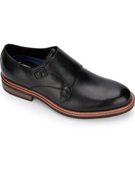 Kenneth Cole Reaction Klay Flex Double Monk Strap Shoe by Reaction Kenneth Cole