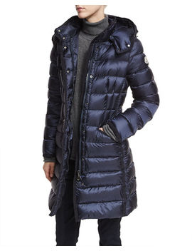 Hermine Hooded Puffer Jacket by Moncler
