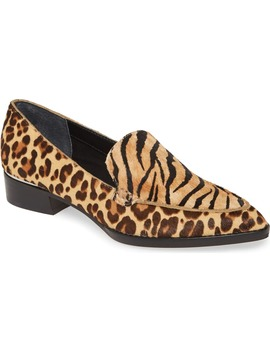 Arlene Pointed Toe Genuine Calf Hair Loafer by Dolce Vita