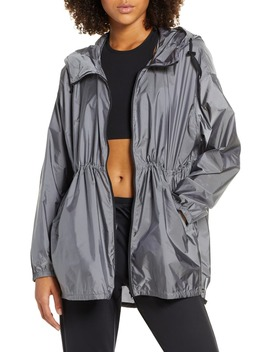 Pack It Water Resistant Anorak by Zella