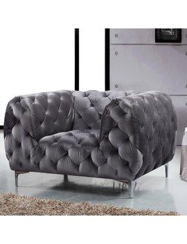 Meridian Furniture Inc Mercer Club Chair by Meridian Furniture