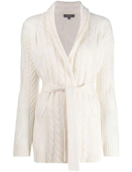 Cardigan Mit Zopfmuster by N.Peal