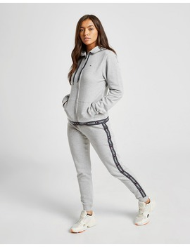Tommy Hilfiger Tape Full Zip Hoodie by Jd Sports