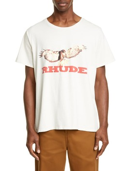 Eagle Graphic T Shirt by Rhude