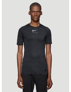 X Nike Technical T Shirt In Black by 1017 Alyx 9 Sm