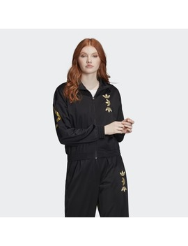 Large Logo Track Top by Adidas