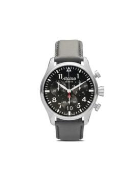 Startimer Pilot Big Date Chronograph 44mm by Alpina