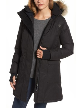 Meredith Hooded Down Parka With Genuine Coyote Fur Trim by Nobis