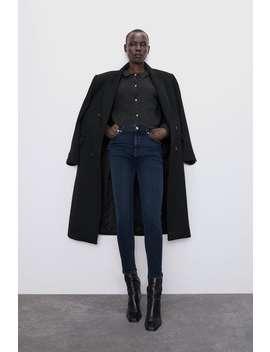Jeans Zw Premium 80 S High Waist Fierce Ink Blue by Zara
