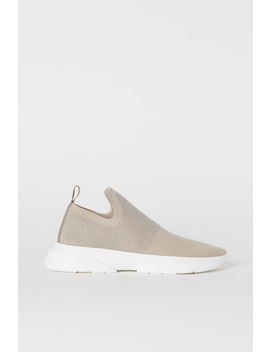 Finstrikkede Sneakers by H&M