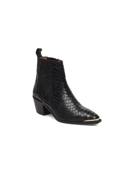 Rebecca Snake Nappa Boot by Flattered