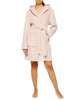 Spot Robe by Topshop