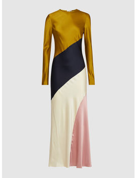 Mitchell Colour Block Long Sleeve Dress by ‎Layeur‎