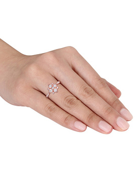Affinity 1/2 Cttw Diamond Engagement Ring, 14 K by Affinity Jewelry