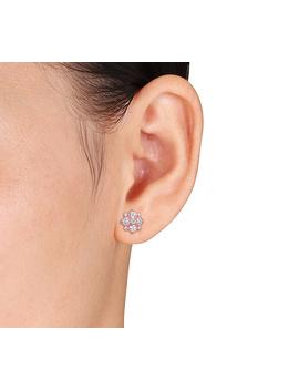 Affinity 1.00 Cttw Diamond Stud Earrings, 14 K by Affinity® Diamond Jewelry
