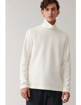 Brushed Cotton Jumper by Cos